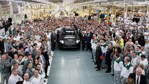 First production Bentley Bentayga