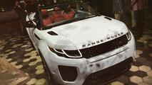 Range Rover Evoque Convertible at 2015 LA Auto Show