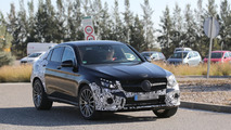 Mercedes-Benz GLC 450 Coupe spy photo