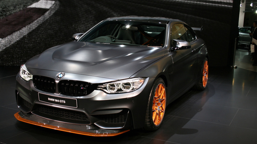 BMW M4 GTS debuts in Tokyo with 500 PS