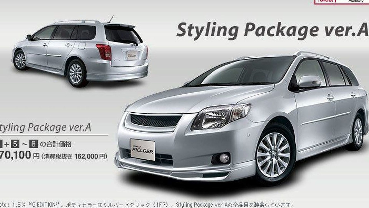 Toyota Corolla Fielder (JA)