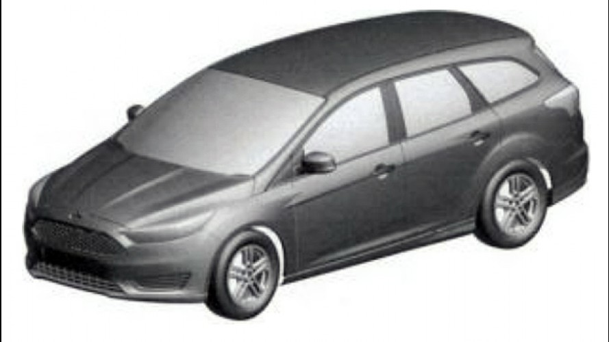 Ford registra patente da perua Focus Sportbreak no Brasil