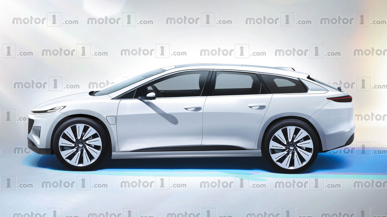 Faraday Future electric SUV render