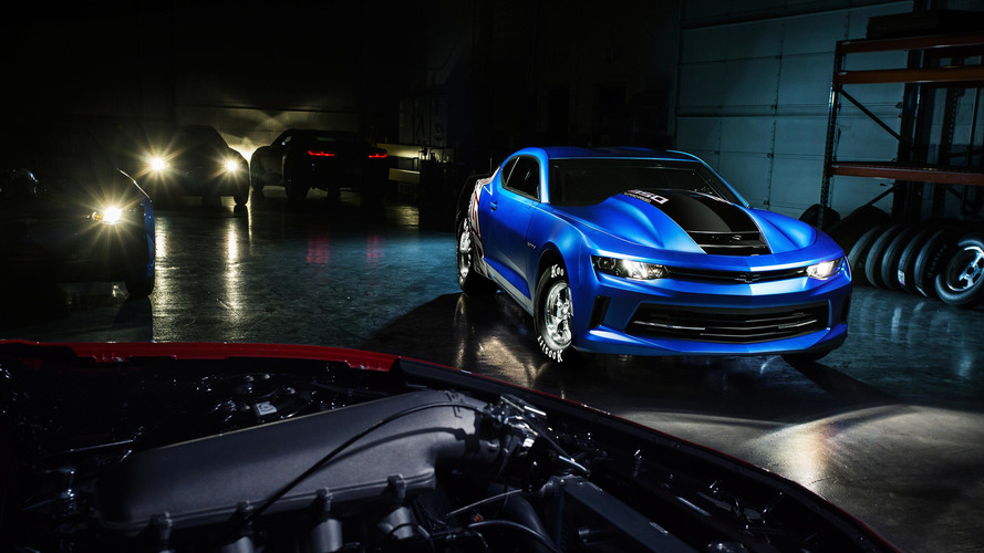 2017 Chevrolet COPO Camaro and SS Drag Race Development Program