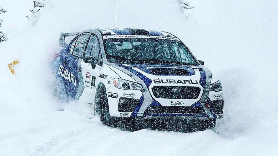 Subaru Canada confirms sponsorship of 2017 Canadian Rally Championship