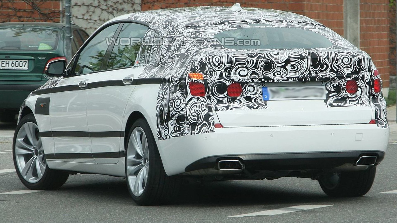 BMW 5-series GT Production Prototype Spy
