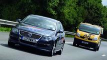 VW Passat BlueMotion TDI world record range