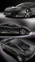 2010 McLaren MP4-12C - Black Livery