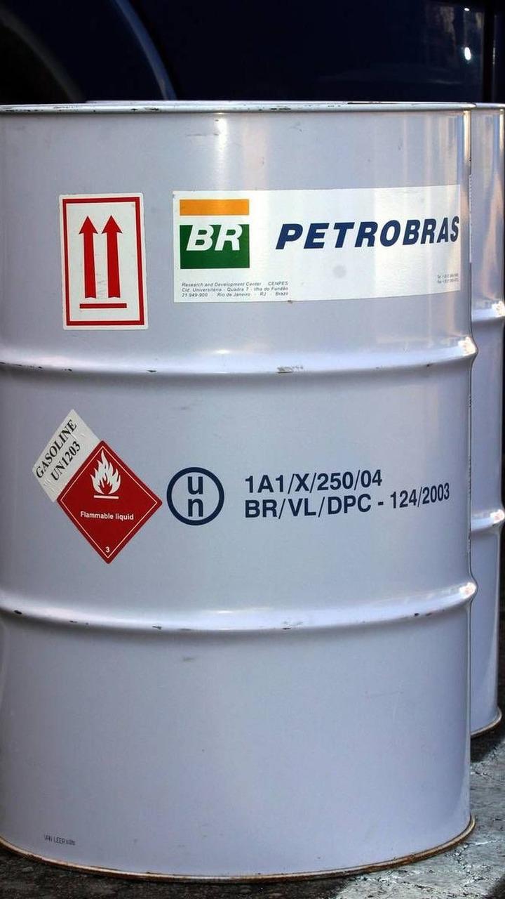PETROBAS fuel drum, Spanish Grand Prix, 05.05.2005 Barcelona, Spain
