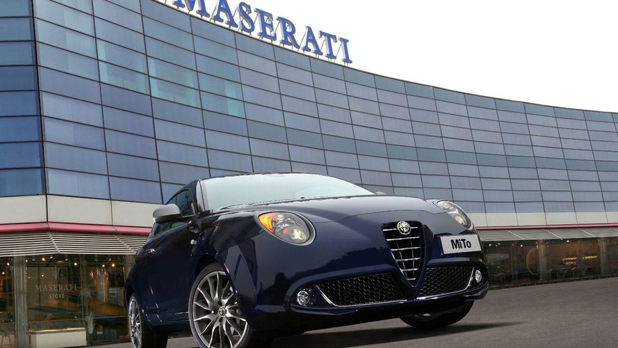 Exclusive Alfa Romeo MiTo Limited Edition for Maserati as Courtesy Car