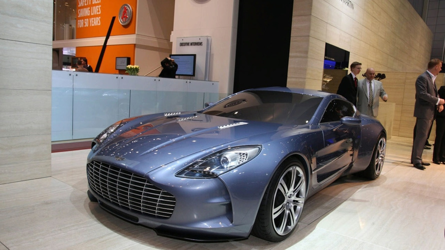 Aston Martin One-77 Officially Powers into Geneva