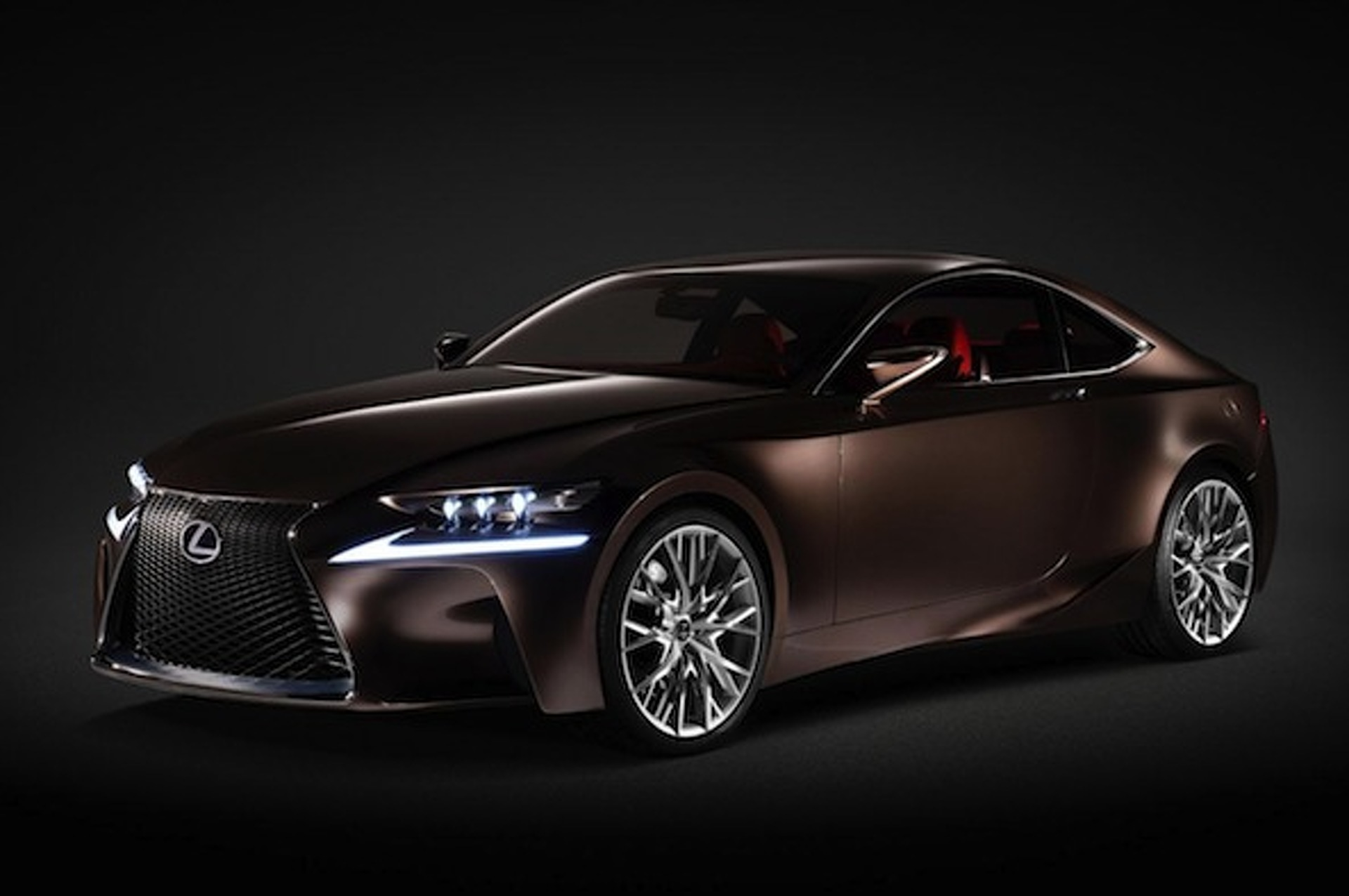 Lexus IS F Coupe Coming in 2014