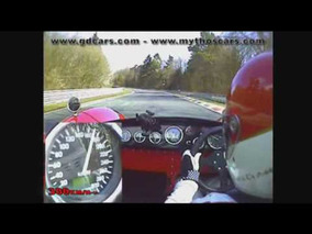 Gardner Douglas T70 on the Nordschleife Nurburgring.