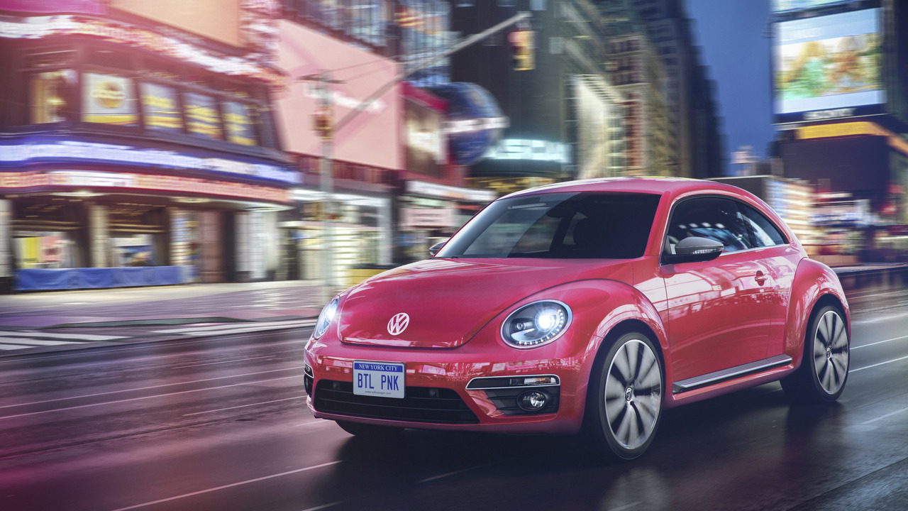 2017 Volkswagen #PinkBeetle