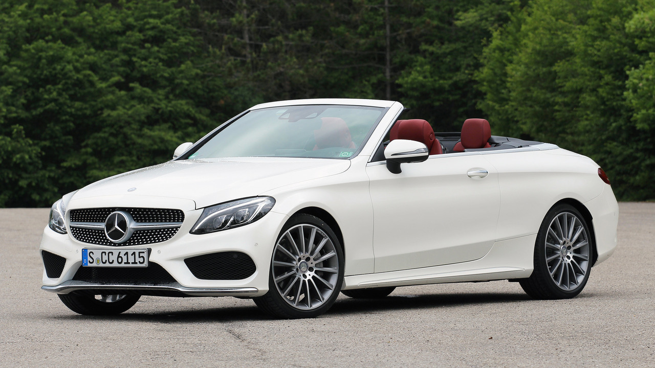 First drive 2017 mercedes benz c300 cabriolet for Mercedes benz c300 msrp