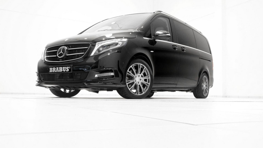 Brabus tunes the Mercedes V-Class