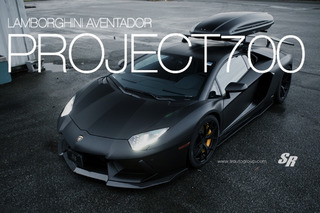 Lamborghini Aventador Project700 is Sinister in Satin