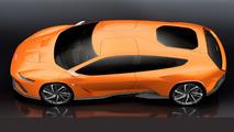 Italdesign GTZero concept