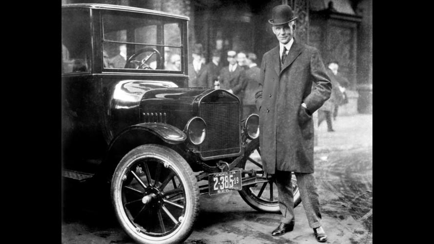 7 Ottobre 1913: Ford introduce la catena di montaggio