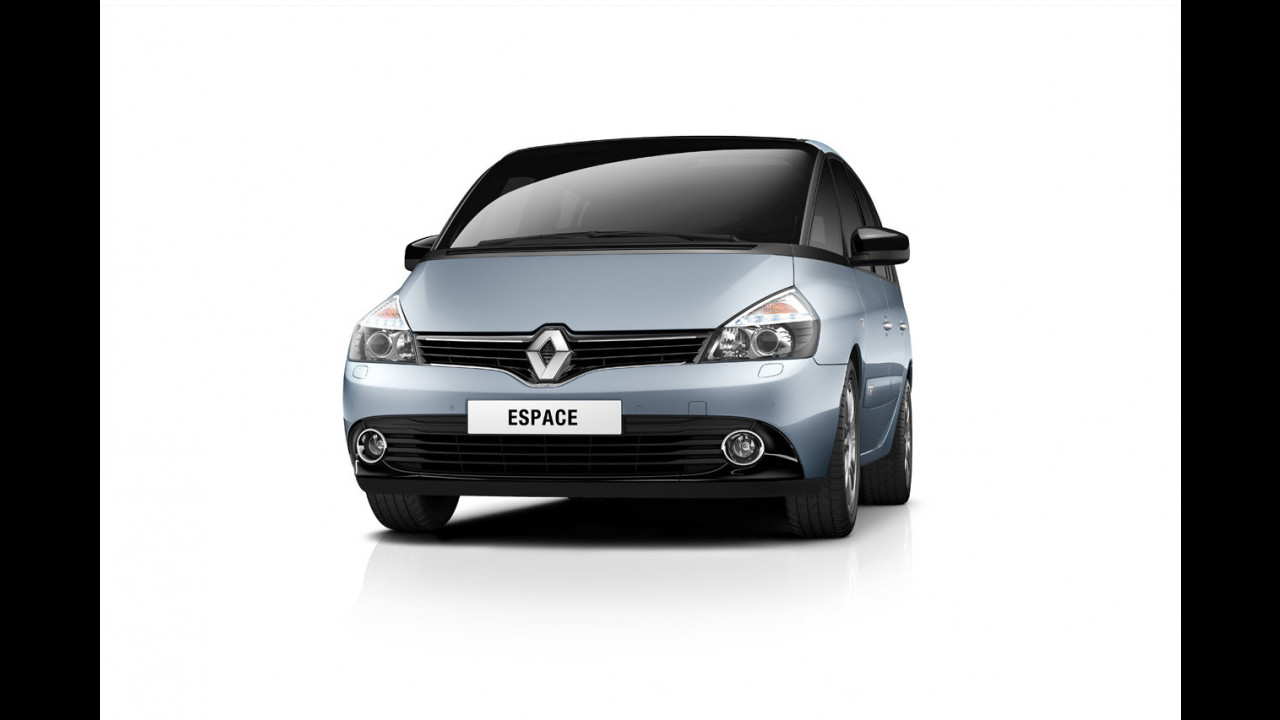 Renault Espace restyling 2012