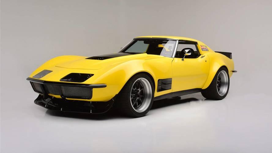 48 saatte geliştirilen Corvette yarış aracı satışa çıkıyor