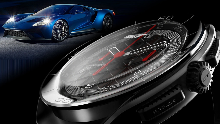 Ford GT, due orologi dedicati