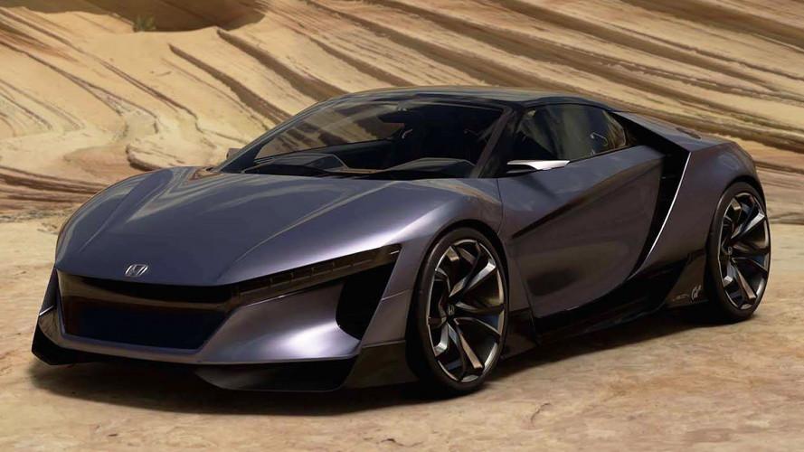 Honda Sports Vision GT, virtuale dal fascino reale
