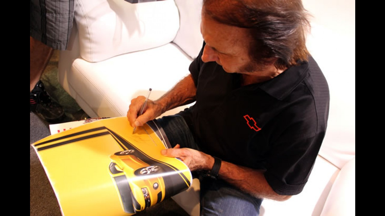 CARPLACE bate-papo com Emerson Fittipaldi no Salão do Automóvel