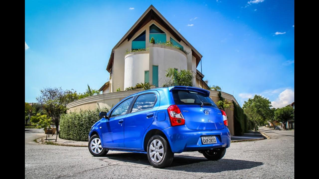 Toyota manda blindar 12 Etios para uso executivo