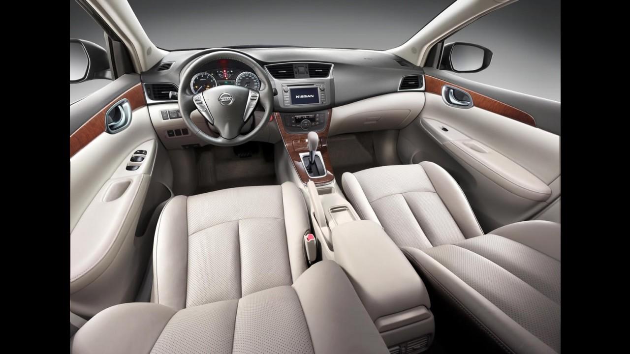 Nova geração do Nissan Sentra começa a ser fabricada ainda neste ano