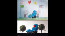 Nissan transforma desenhos feitos por crianças em sketches de verdade