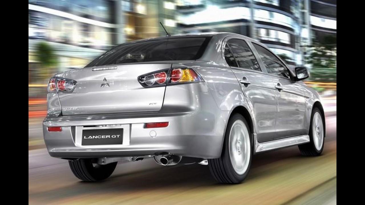 Mitsubishi Lancer some do configurador. Será que saiu de linha?
