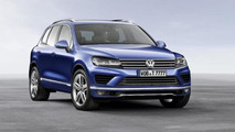 2015 Volkswagen Touareg facelift