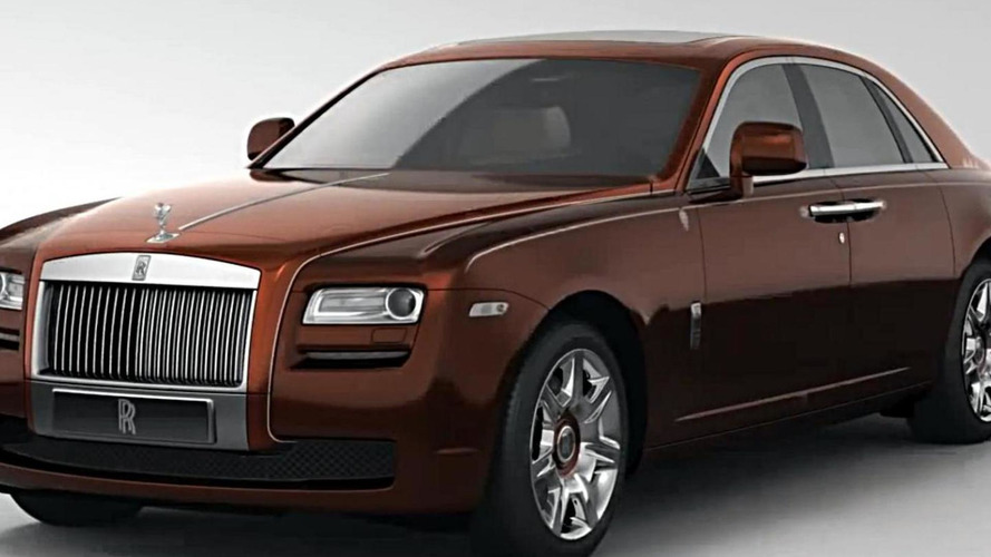 Rolls-Royce teases their last Ghost 1001 Nights Edition [video]