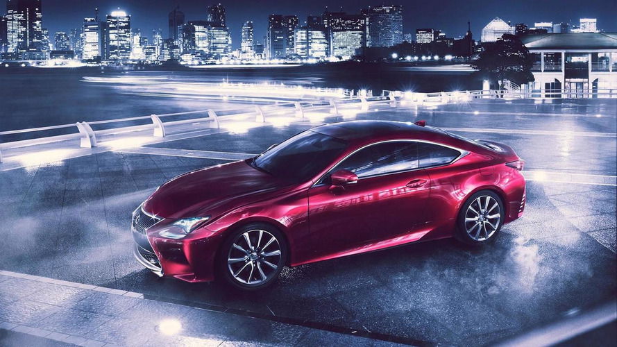 2014 Lexus RC officially revealed