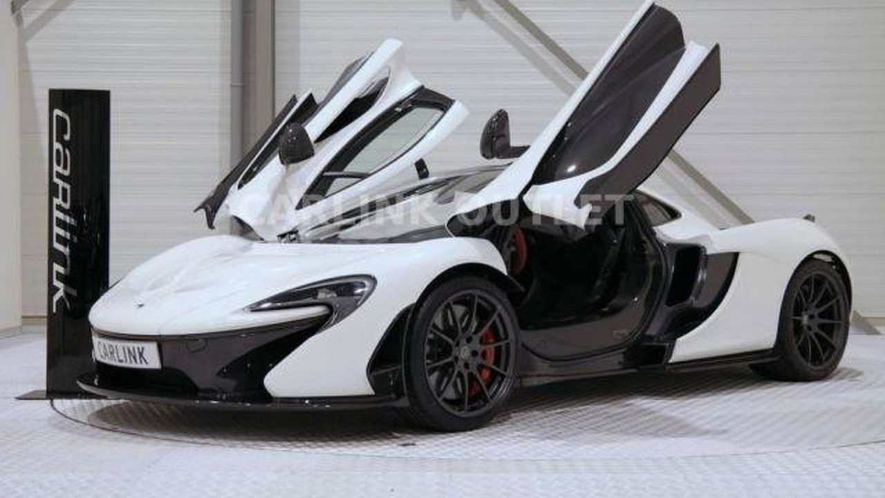 Two McLaren P1s for sale in the Netherlands
