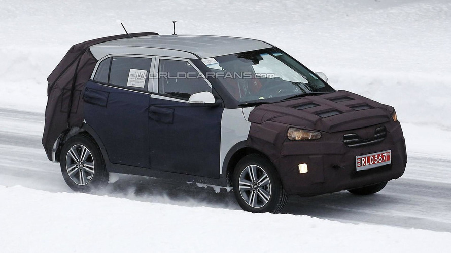2014 Hyundai ix25 compact crossover returns in new spy shots