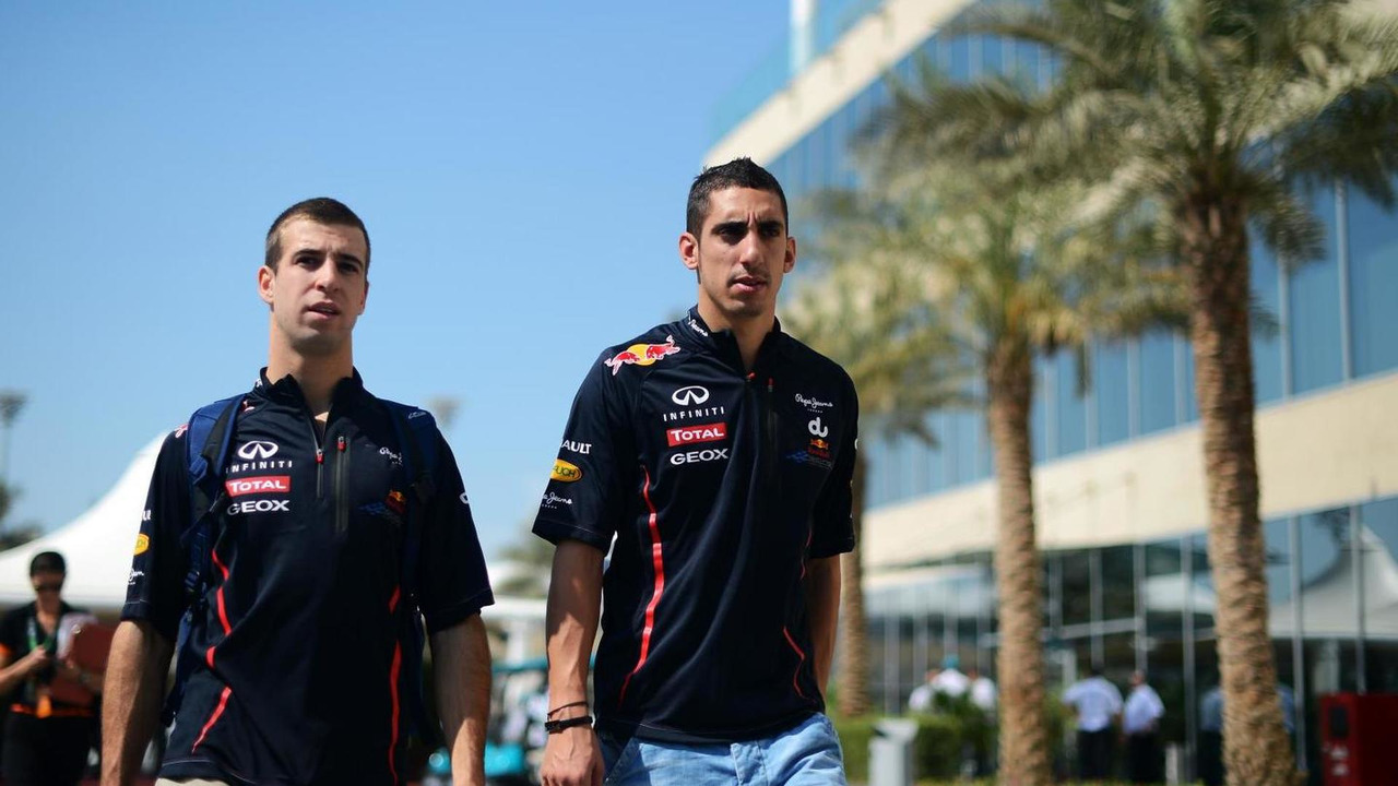 Antonio Felix da Costa with Sebastien Buemi 02.11.2012 Abu Dhabi Grand Prix