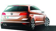 Volkswagen Golf Sportsvan concept 08.09.2013