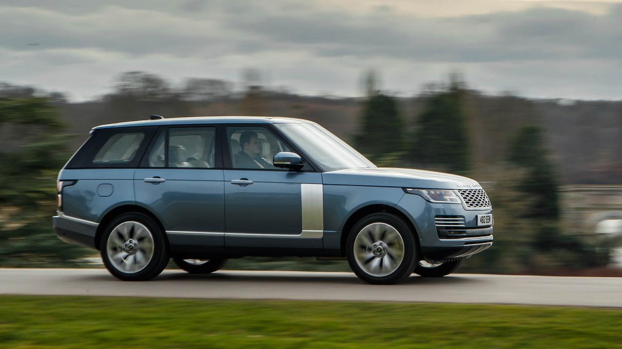 Range Rover: Duo Tone Lackierung