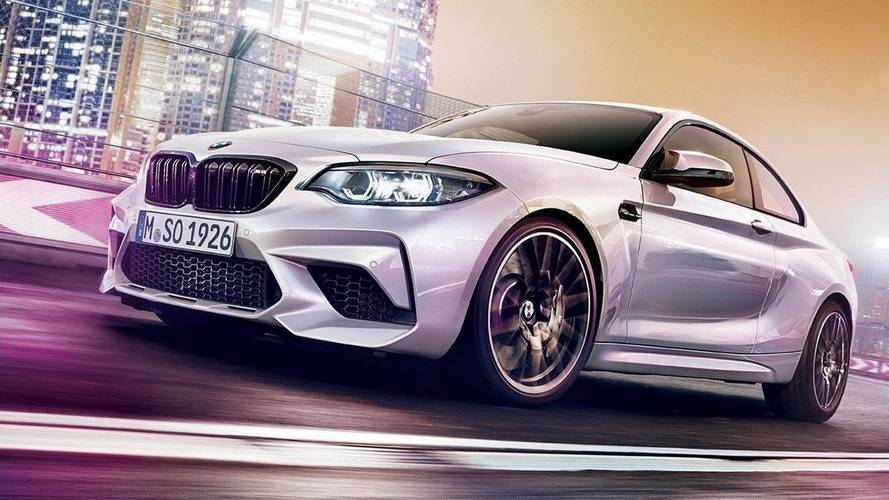 BMW M2 Competition With 410 HP Leaked In Colorful Official Images