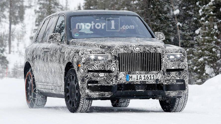 Rolls-Royce Spied Benchmarking Cullinan Against Range Rover