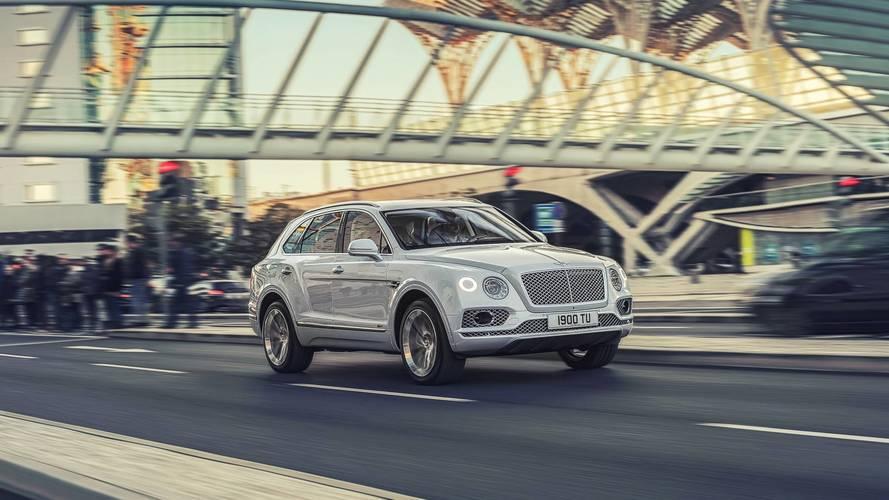Bentley prépare le Bentayga Speed