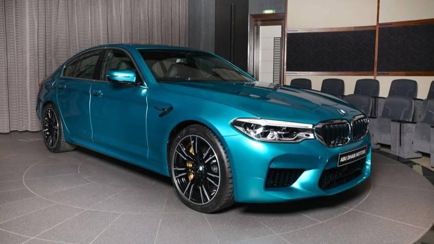 Cualquiera soñaría con este BMW M5 2018, de Abu Dhabi Motors