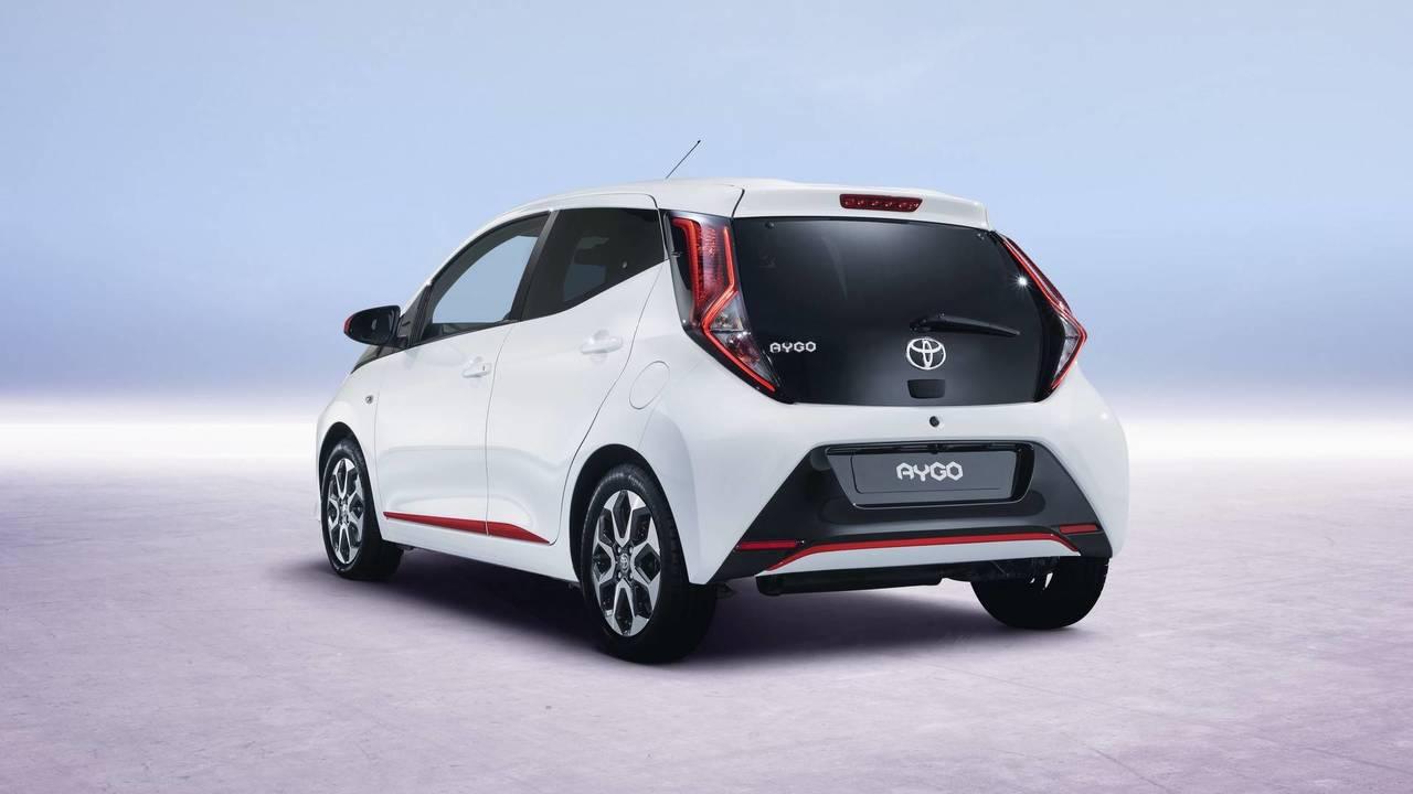 2018 Toyota Aygo facelift
