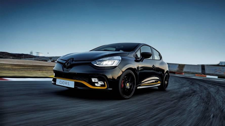 La Renault Clio R.S. 18 démarre à partir de...