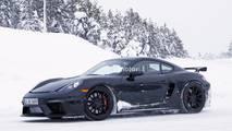2019 Porsche Cayman GT4 casus fotoğraflar