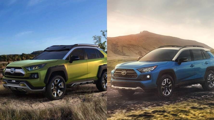 2019 Toyota Rav4 See The Changes Side By Side