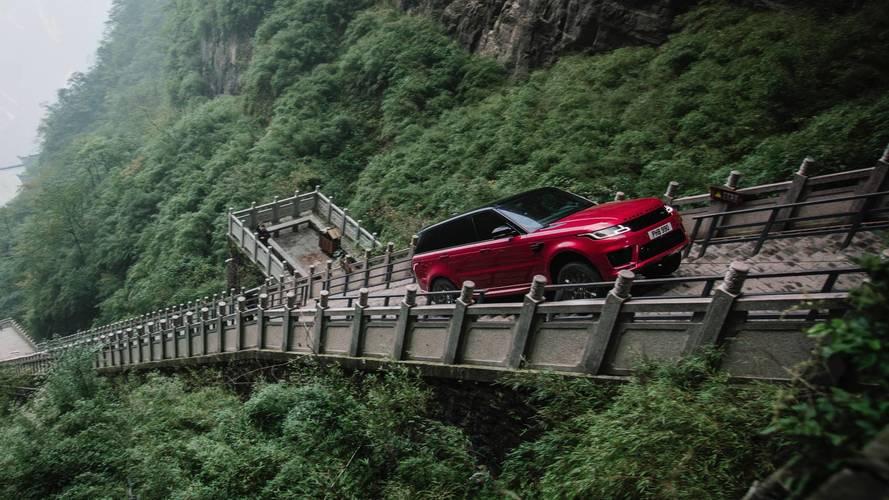 Le Range Rover Sport P400e et le challenge de la Route du Dragon