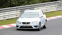 2015 Seat Leon ST Cupra spy photo